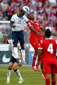 Eddie Johnson, score 2nd goal, USA vs Panama, World Cup Qualification match, Seattle, WA